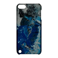 Blue Abstract Apple Ipod Touch 5 Hardshell Case With Stand