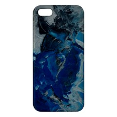Blue Abstract Iphone 5s Premium Hardshell Case