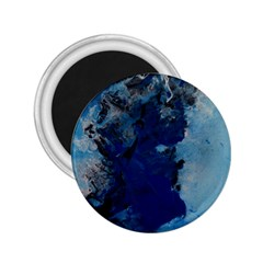 Blue Abstract No 2 2 25  Magnets