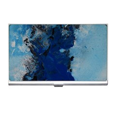 Blue Abstract No 2 Business Card Holders