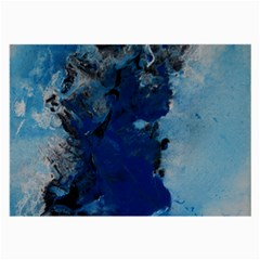 Blue Abstract No 2 Large Glasses Cloth
