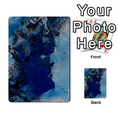 Blue Abstract No.2 Multi-purpose Cards (Rectangle)