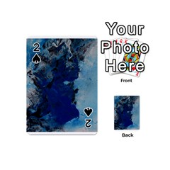Blue Abstract No.2 Playing Cards 54 (Mini)