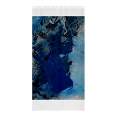 Blue Abstract No.2 Shower Curtain 36  x 72  (Stall)