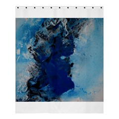 Blue Abstract No 2 Shower Curtain 60  X 72  (medium)