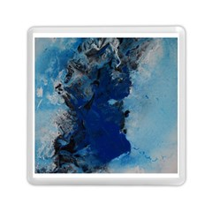 Blue Abstract No 2 Memory Card Reader (square)