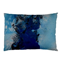 Blue Abstract No.2 Pillow Cases (Two Sides)