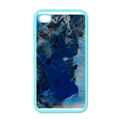 Blue Abstract No 2 Apple Iphone 4 Case (color)