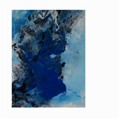 Blue Abstract No.2 Large Garden Flag (Two Sides)