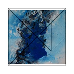 Blue Abstract No.2 Acrylic Tangram Puzzle (6  x 6 )