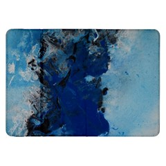 Blue Abstract No 2 Samsung Galaxy Tab 8 9  P7300 Flip Case