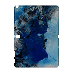 Blue Abstract No 2 Samsung Galaxy Note 10 1 (p600) Hardshell Case