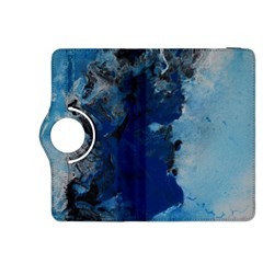 Blue Abstract No 2 Kindle Fire Hdx 8 9  Flip 360 Case