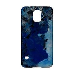 Blue Abstract No.2 Samsung Galaxy S5 Hardshell Case