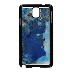 Blue Abstract No 2 Samsung Galaxy Note 3 Neo Hardshell Case (black)