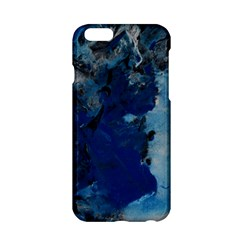 Blue Abstract No.2 Apple iPhone 6 Hardshell Case
