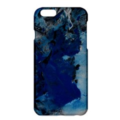 Blue Abstract No.2 Apple iPhone 6 Plus Hardshell Case