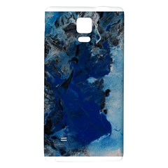 Blue Abstract No.2 Galaxy Note 4 Back Case