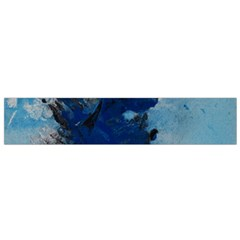 Blue Abstract No.2 Flano Scarf (Small)