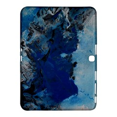 Blue Abstract No.2 Samsung Galaxy Tab 4 (10.1 ) Hardshell Case