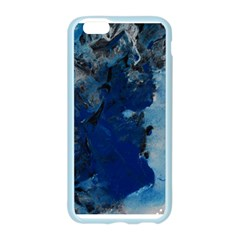 Blue Abstract No.2 Apple Seamless iPhone 6 Case (Color)