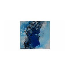 Blue Abstract No.2 Satin Wrap