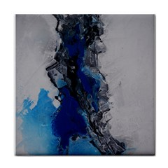 Blue Abstract No 3 Tile Coasters