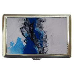 Blue Abstract No 3 Cigarette Money Cases