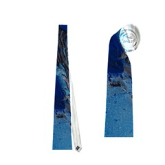 Blue Abstract No.3 Neckties (One Side)