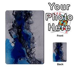 Blue Abstract No.3 Multi-purpose Cards (Rectangle)