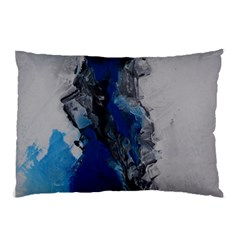 Blue Abstract No.3 Pillow Cases