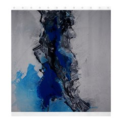 Blue Abstract No.3 Shower Curtain 66  x 72  (Large)