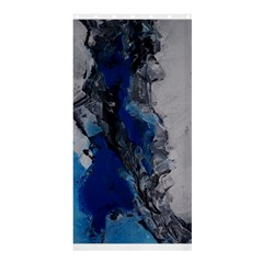 Blue Abstract No.3 Shower Curtain 36  x 72  (Stall)