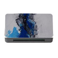 Blue Abstract No.3 Memory Card Reader with CF