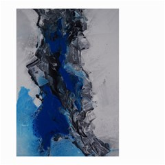 Blue Abstract No.3 Small Garden Flag (Two Sides)