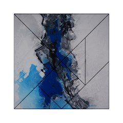 Blue Abstract No 3 Acrylic Tangram Puzzle (6  X 6 )