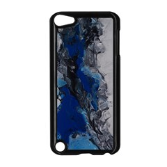 Blue Abstract No 3 Apple Ipod Touch 5 Case (black)