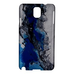 Blue Abstract No 3 Samsung Galaxy Note 3 N9005 Hardshell Case