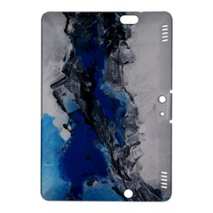 Blue Abstract No 3 Kindle Fire Hdx 8 9  Hardshell Case
