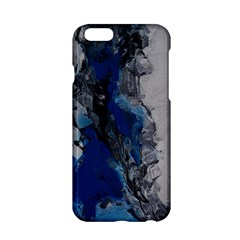 Blue Abstract No.3 Apple iPhone 6 Hardshell Case