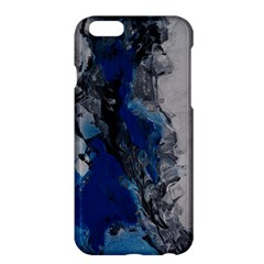 Blue Abstract No 3 Apple Iphone 6 Plus Hardshell Case