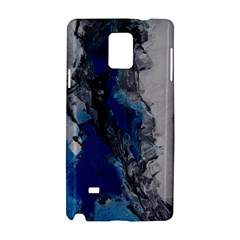 Blue Abstract No 3 Samsung Galaxy Note 4 Hardshell Case