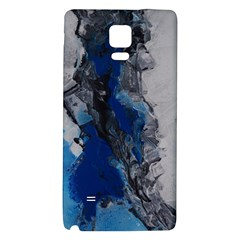 Blue Abstract No.3 Galaxy Note 4 Back Case