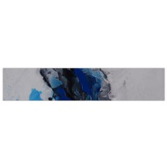 Blue Abstract No.3 Flano Scarf (Small)