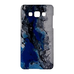 Blue Abstract No 3 Samsung Galaxy A5 Hardshell Case