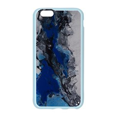 Blue Abstract No.3 Apple Seamless iPhone 6 Case (Color)