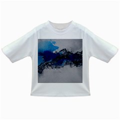 Blue Abstract No.4 Infant/Toddler T-Shirts