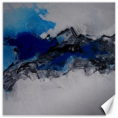 Blue Abstract No 4 Canvas 20  X 20