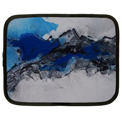 Blue Abstract No 4 Netbook Case (xl)