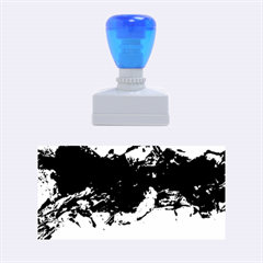 Blue Abstract No.4 Rubber Stamps (Medium)